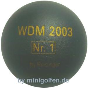 Reisinger WDM 2003 No.1