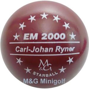 "M&G Starball EM 2000 Carl-Johan Ryner ""M"""