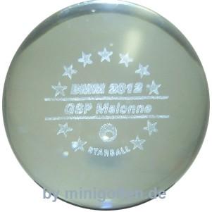 "Minigolf Company Glasauge ""Starball BMM 2012 GSP Malonne"""