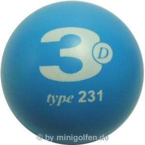 3D type 231 M