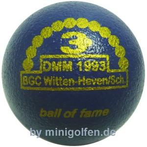 3D BoF DMM 1993 Witten-Heven/ Sch.