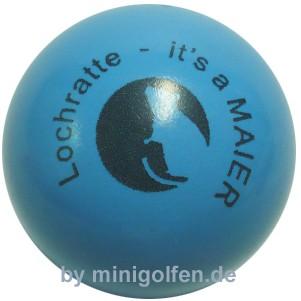 maier Lochratte blau