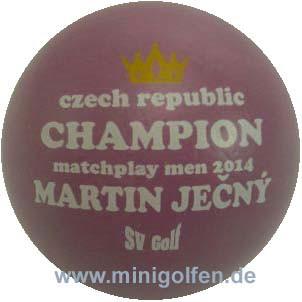 SV Czech Champion matchplay 2014 Martin Ječný