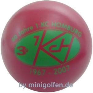 3D 40 Jahre 1. KC Homburg