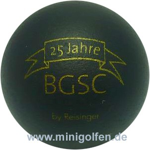 Reisinger 25 Jahre BGSC