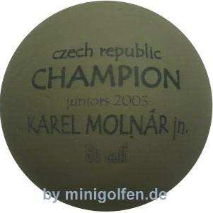 SV Czech CHAMPION juniors 2005 Karel Molnar