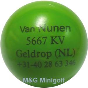 "mg Van Nunen ""grün"""