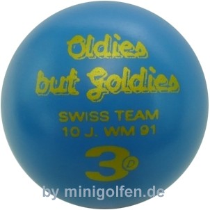 3D Oldies but Goldies Swiss Team 10 Jahre WM 1991
