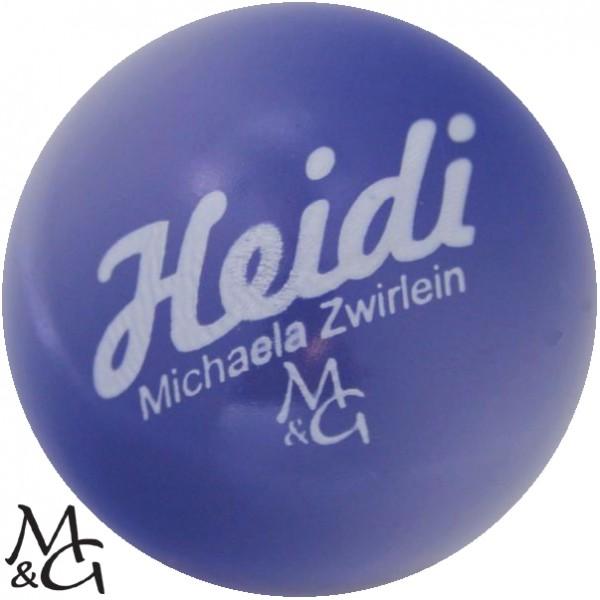 M&G Heidi - Michaela Zwirlein