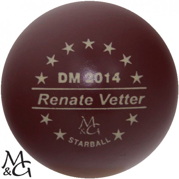 M&G Starball DM 2014 Renate Vetter