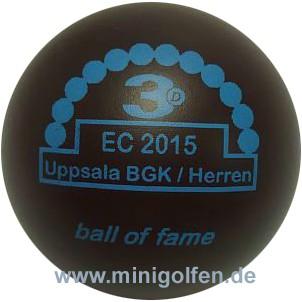 3D BoF EC 2015 Uppsala BGK/ Herren