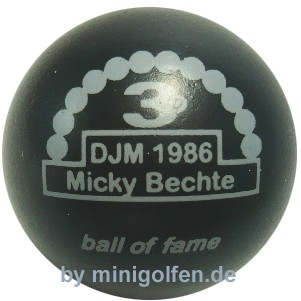 3D BOF DJM 1986 Micky Bechte