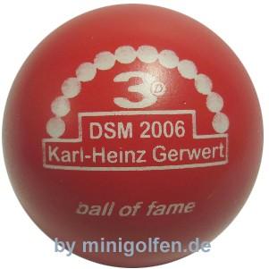 3D BoF DSM 2006 Karl-Heinz Gerwert
