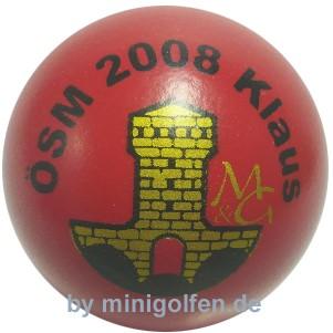 M&G ÖSM 2008 MGC Klaus