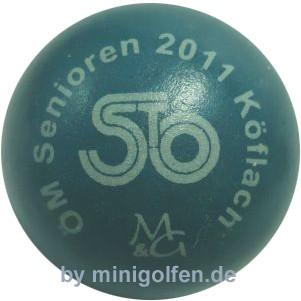 """M&G ÖM-Senioren 2011 Köflach """"blau"""""""