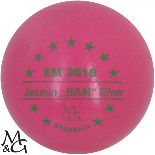 M&G Starball EM 2018 Jasmin Ehm
