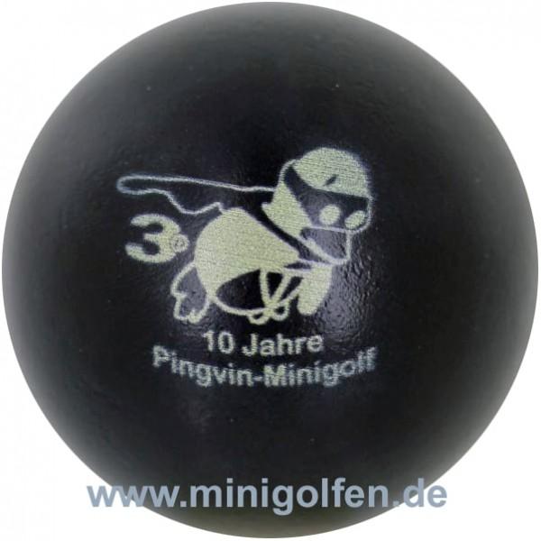 3D Pingvin 10 Jahre Pingvin Minigolf