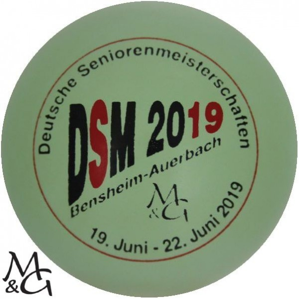 M&G DSM 2019 Bensheim- Auerbach