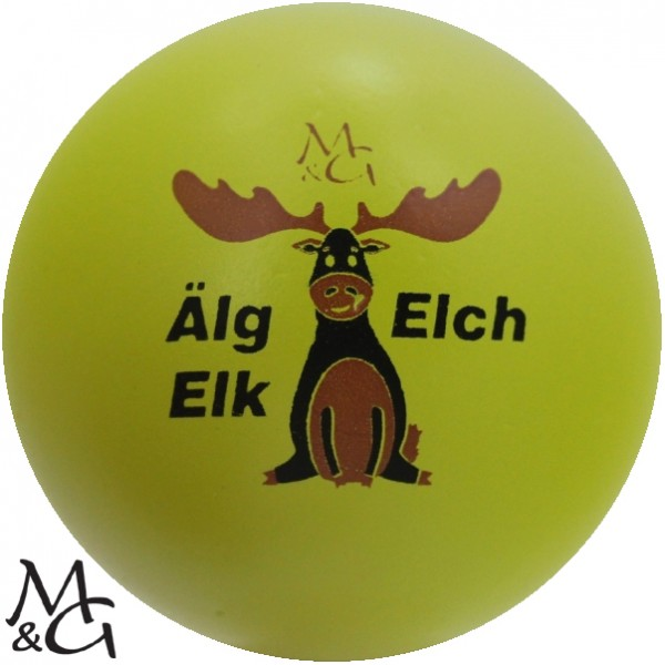 M&G Big Älg - Elch - Elk