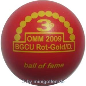 3D BoF ÖMM 2009 BGCU Rot Gold / Damen