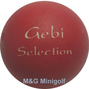 "M&G Gebi Selection ""rot"""