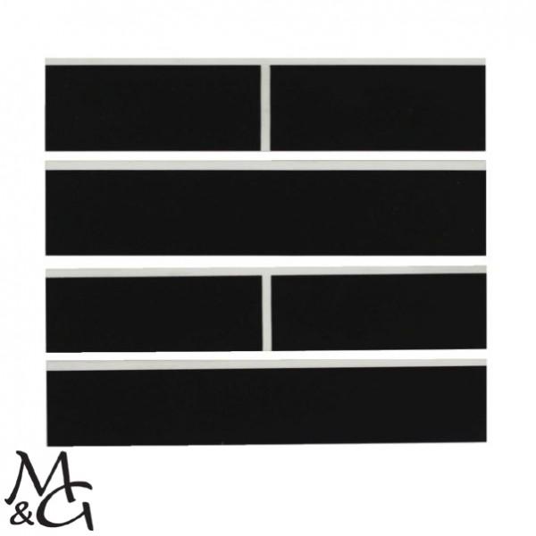 Schlägerplatte für Minigolfschläger schwarz