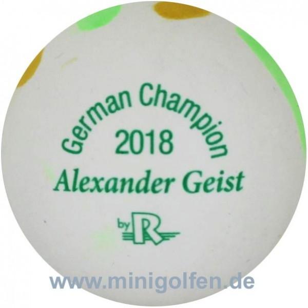 Reisinger German Champion 2018 Alexander Geist