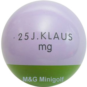 mg 25 Jahre Klaus