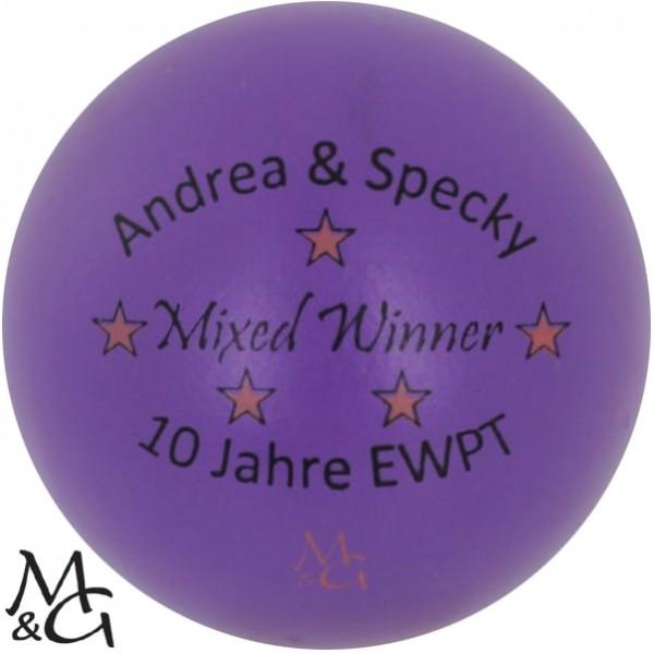 M&G Andrea & Specky - Mixed Winner - 10 Jahre EWPT