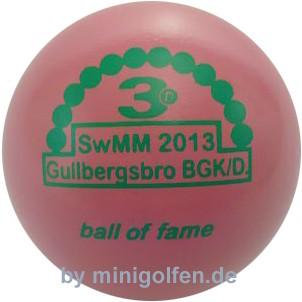 3D BoF SwMM 2013 Gullbergspro BGK Damen