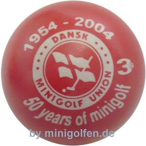 3D 50 years of Minigolf - Dansk Minigolf Union