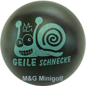"""M&G Geile Schnecke """"schwarz"""""""
