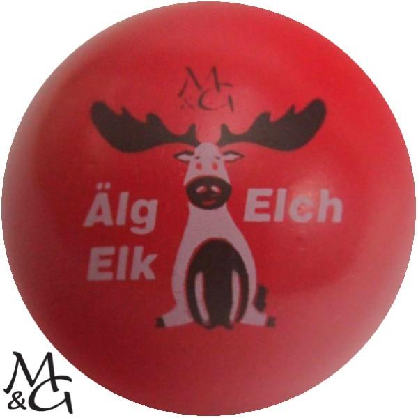 M&G Älg - Elch - Elk
