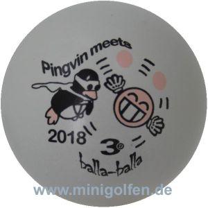3D Pingvin meets Balla Balla 2018