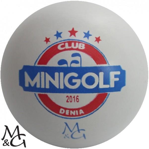 M&G Club Minigolf Denia 2016