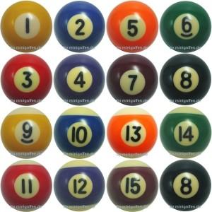 Stein | Klicker mit Billiardnummern