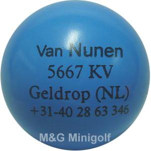 "mg Van Nunen ""blau"""