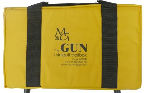 """Ball Box """"The Gun"""" - Meine Balltasche für Minigolf"""