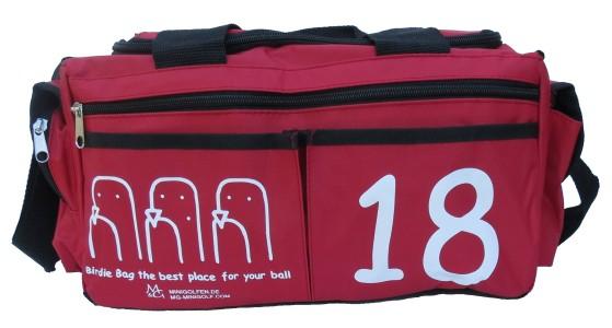 M&G Birdie Bag - DIE perfekte Balltasche für Minigolf; Golftasche