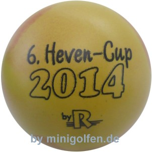 """Reisinger 6. Heven-Cup 2014 """"gelb"""""""