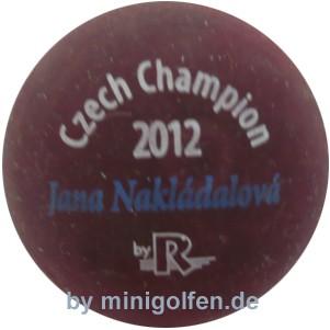 Reisinger Czech Champion 2012 Jana Nakladalova