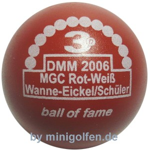 3D BoF DMM 2006 Wanne Eickel/Sch.
