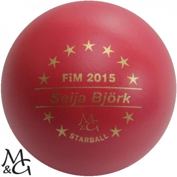M&G Starball FiM 2015 Seija Björk