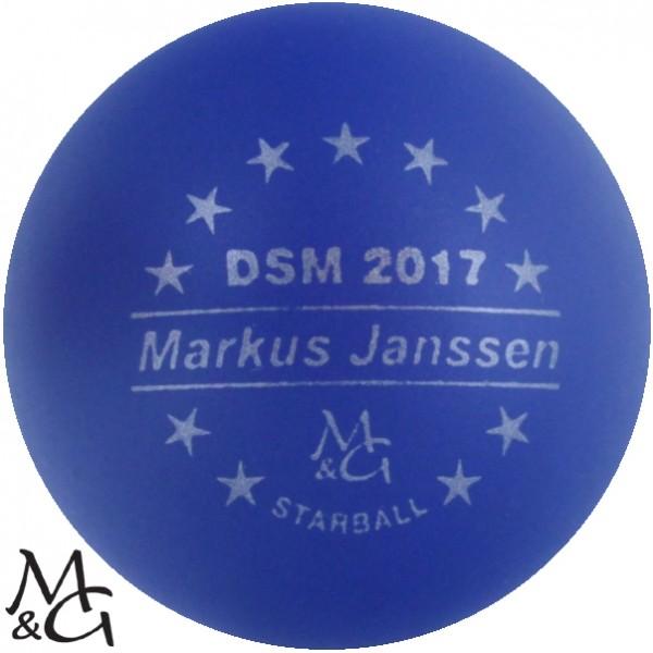 M&G Starball DSM 2017 Markus Janssen