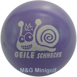 """M&G Geile Schnecke """"lila"""""""