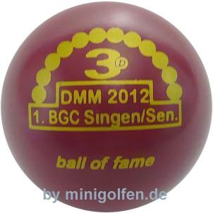 3D BoF DMM 2012 1. BGC Singen