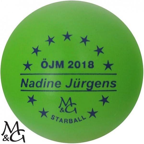 M&G Starball ÖJM 2018 Nadine Jürgens