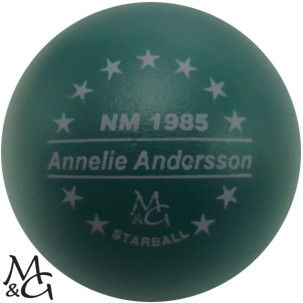 M&G Starball NM 1985 Annelie Andersson