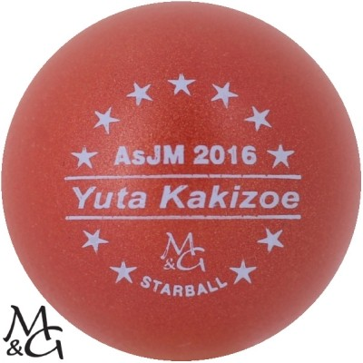 M&G Starball AsJM 2016 Yuta Kakizoe