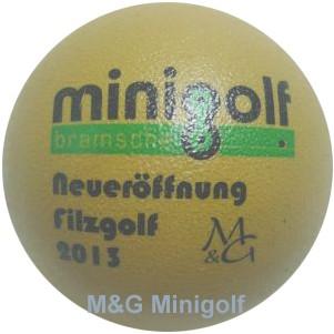 M&G Minigolf Nettetal 2013 - Neueröffnung Filzgolf; Bramsche